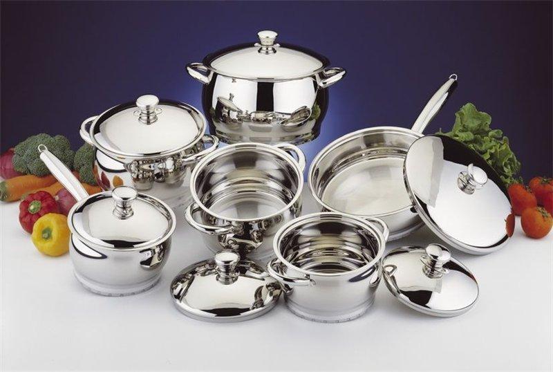 Посуда из нержавеющей стали – выбор опытных поваров