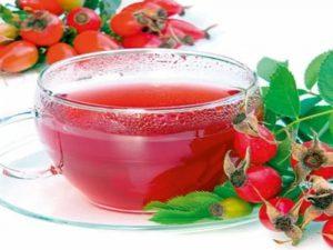 Встречаем весну: витаминный чай из шиповника и имбиря