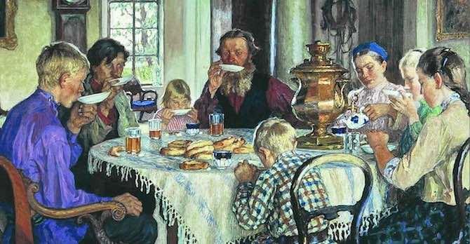 Индийский чай — традиции России