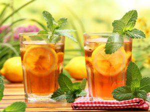 Холодный чай опасно пить в жару