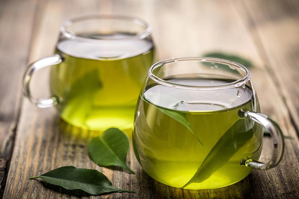Зеленый чай благоприятно влияет на здоровье глаз