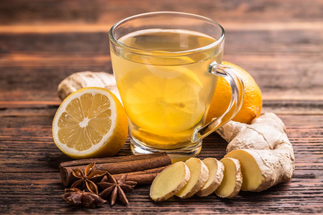 Имбирный чай: 4 целительных рецепта при простуде