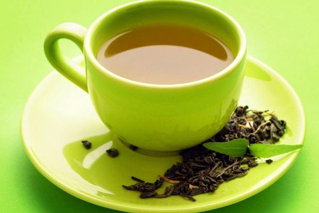 Зелёный чай замедляет набор веса