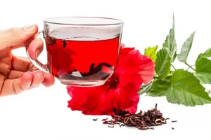 Красный чай каркадэ: польза и вред от него