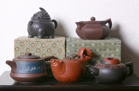 История чайника из исинской глины