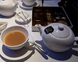 Чайные церемонии в самолете