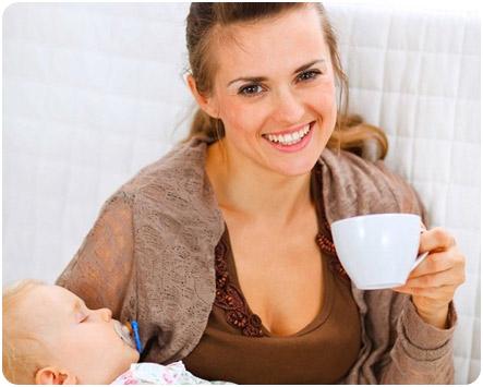 Травяной чай для кормящих матерей
