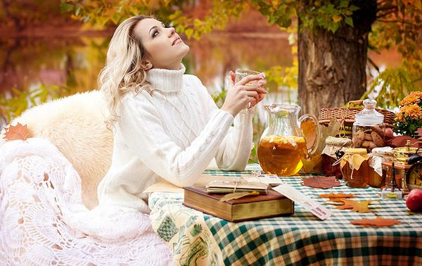 Какой чай пить осенью?
