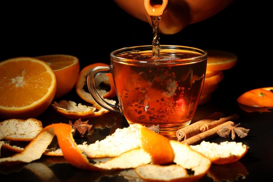 Полезный фруктовый чайный рецепт