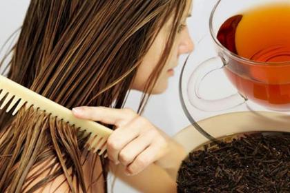 Маска для роста волос на основе чая