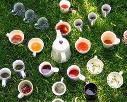 Чай и сосуды