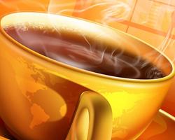 Оригинальный коктейль: какао и чай