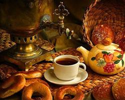 Появление русского чая на свет