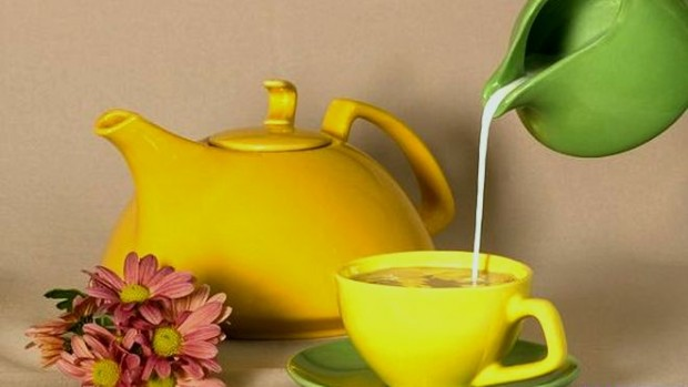 Зелёный чай с молоком — отличное средство против рака