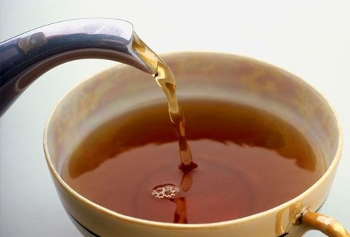 Чай спасает от обезвоживания организма