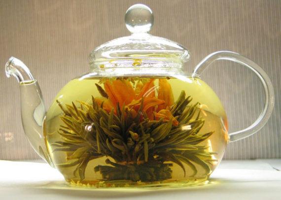 Цветочный чай в Китае