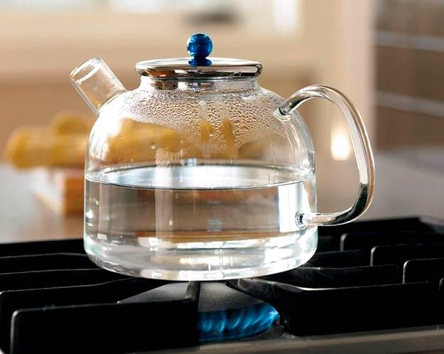 Почему нельзя кипятить воду для заваривания чая