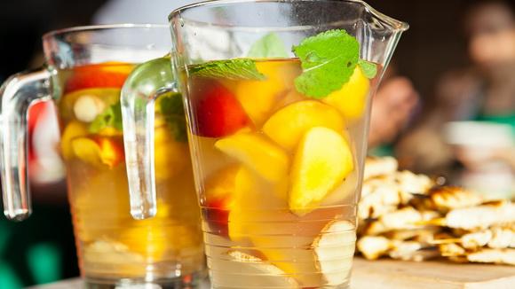 Безалкогольные коктейли на основе холодного чая