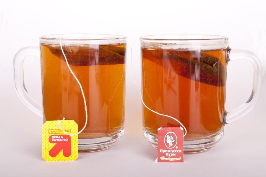 Заваривание чая в холодной воде