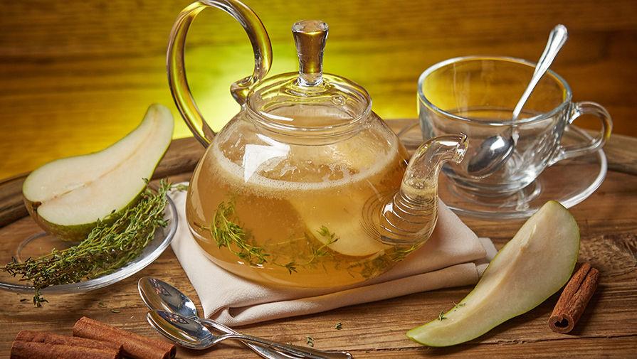 Жасминовый чай с манго и грушей