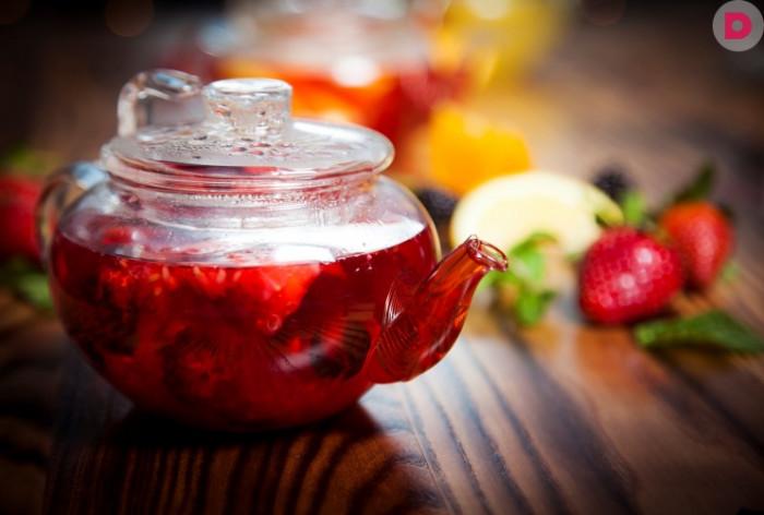 Цветочно-ягодный чай
