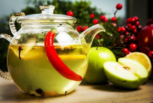 Чай с острым красным перцем для похудения