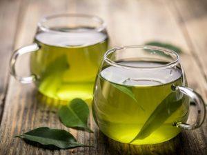 Зеленый чай спасает от прыщей