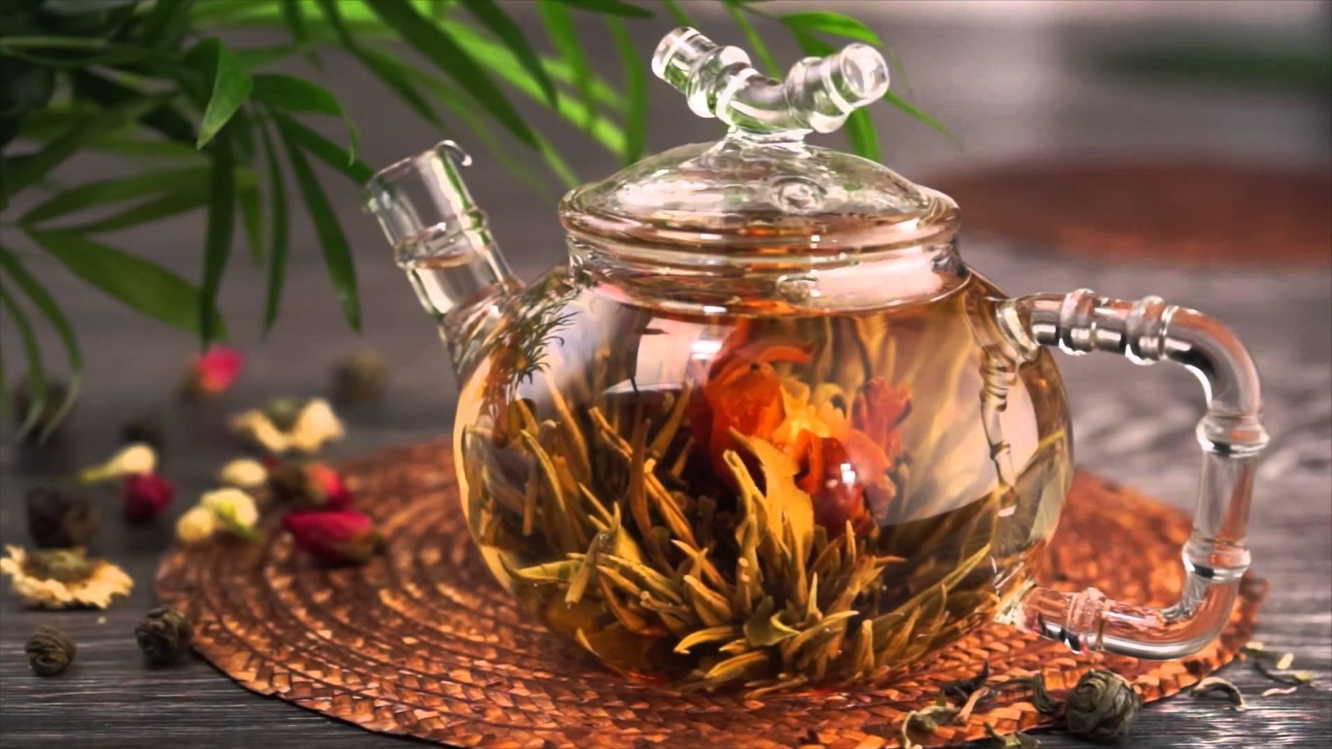 Связанный китайский чай