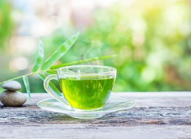 Зеленый чай способствует нормализации повышенного давления