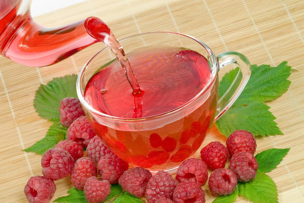 Польза чая с малиной при температуре