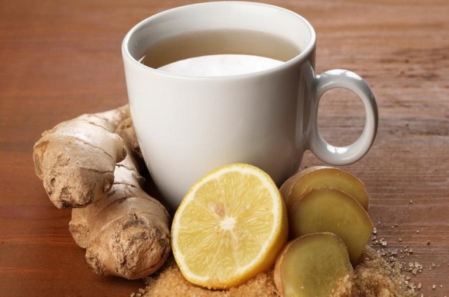 Рецепты чая с имбирем и лимоном