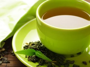 Быстрее сжигать калории организму помогает зеленый чай