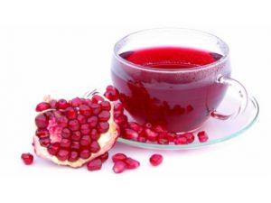 Язву желудка вылечит гранатовый чай