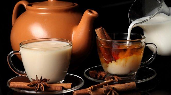 Чай с молоком лучше не смешивать