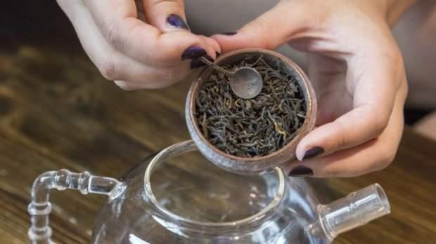 Черный чай способствует похудению