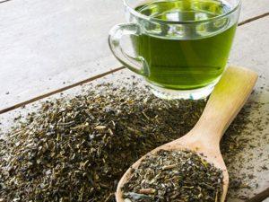 Зеленый чай полезен для костей