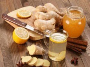 Имбирный чай избавит от стресса и боли