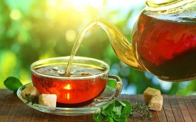 Сбросить вес поможет чёрный чай