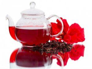 Чай каркаде, красный чай из Египта