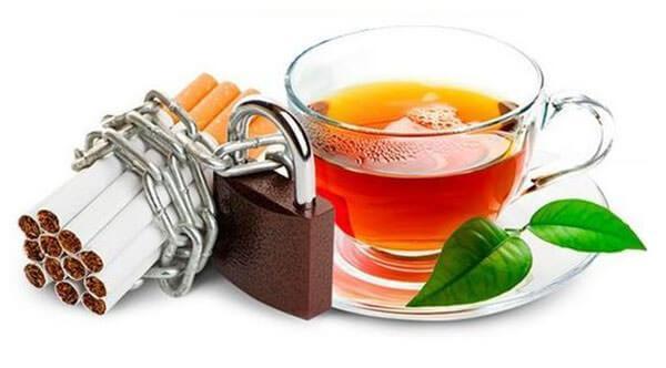 Какой он — чай от курения?