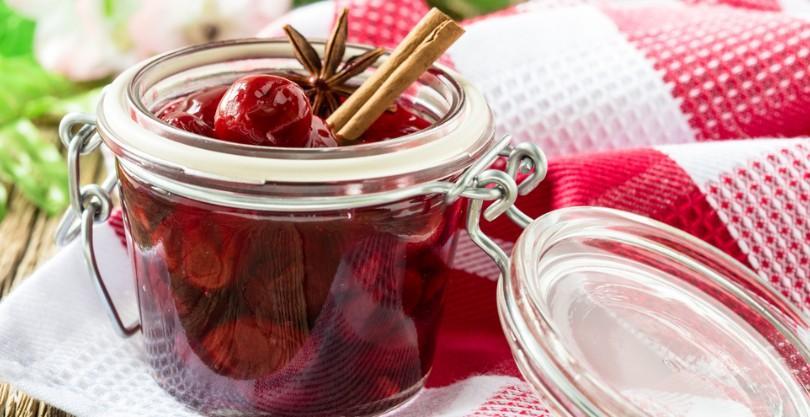 Вишневый сад: чай из веток вишни