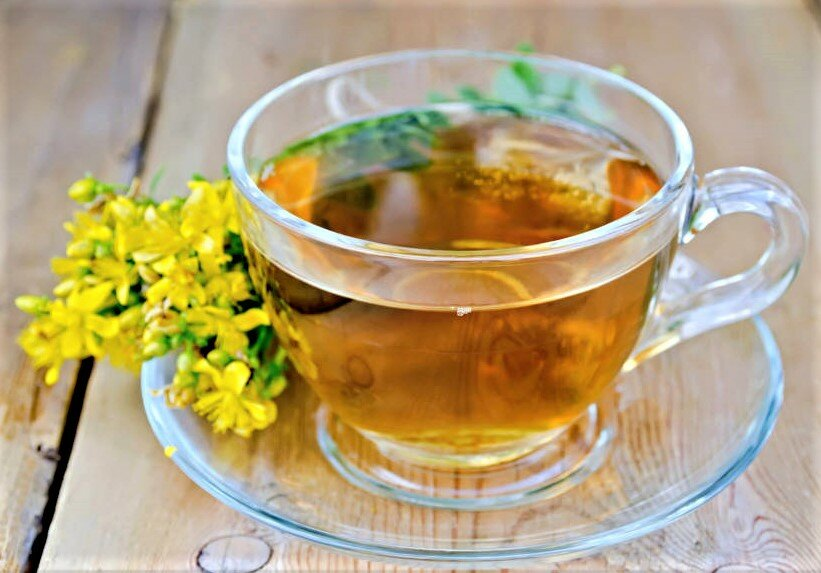 Чай из зверобоя полезен для нервной системы и не только