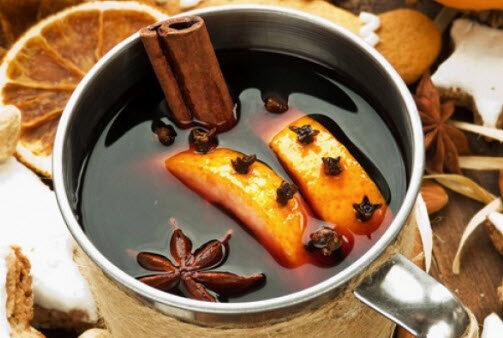 Чай из корицы, кардамона, имбиря и куркумы для здоровья