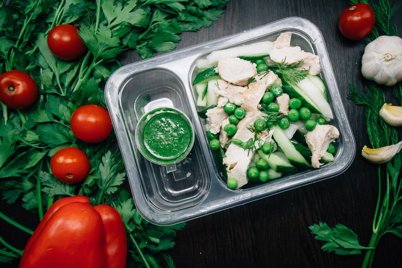 Сервис PROGYMFOOD: здоровое и правильное питание с доставкой на дом