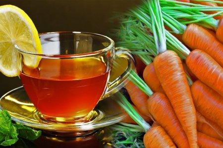 Сохранить ясность ума и память до самой смерти поможет чай и морковь
