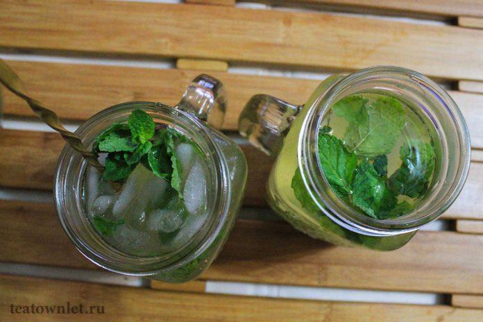 Рецепт безалкогольныго чайного мохито