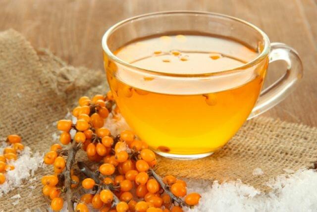 Облепиховый чай от бессонницы и стрессов
