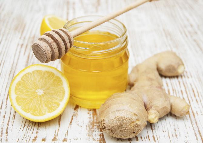 Чай с медом и имбирем улучшает иммунитет