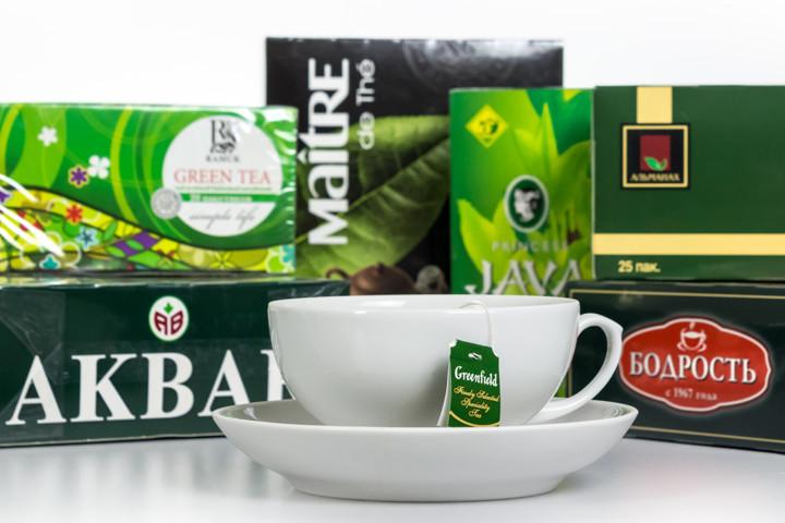 Экспертиза зеленого чая в пакетиках