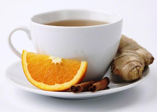 Имбирь + чай = отличная вещь!